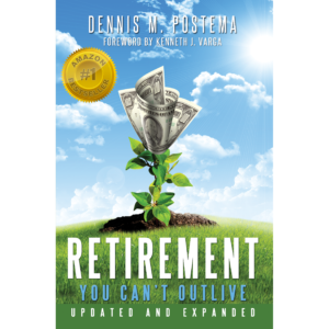 Retirement You Can't Outlive Personalized (100 Book Minimum)