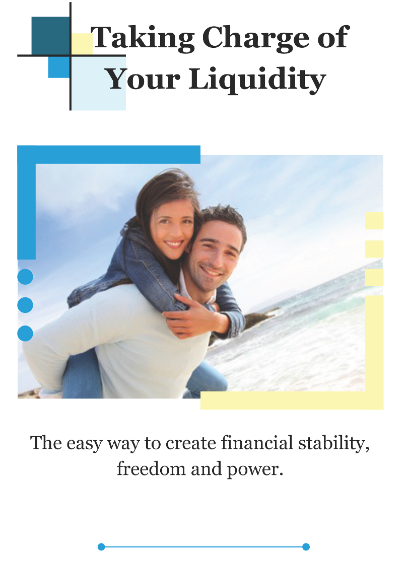 """Taking Charge of Your Liquidity"" Personalized Booklet (50 booklet minimum)"