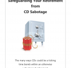"""Safeguarding Your Retirement from CD Sabotage"" Personalized Booklet (50 booklet minimum)"