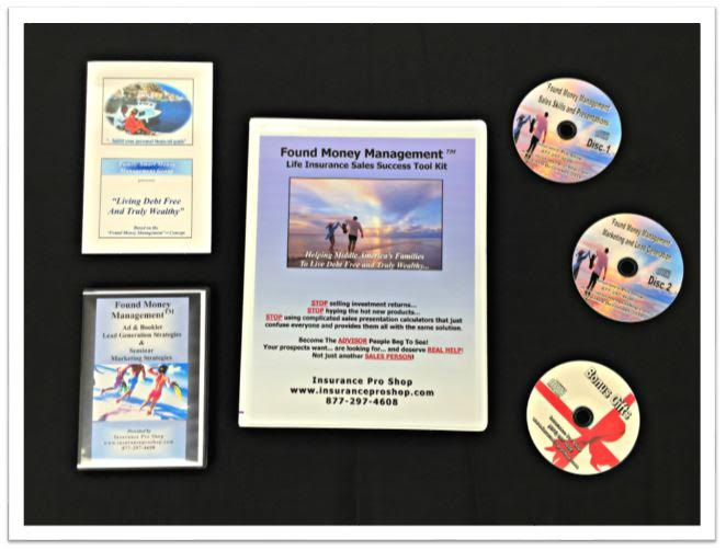Found Money Management™ Life Insurance Lead & Sales Tool Kit